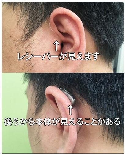 耳かけ型補聴器 RIC a3