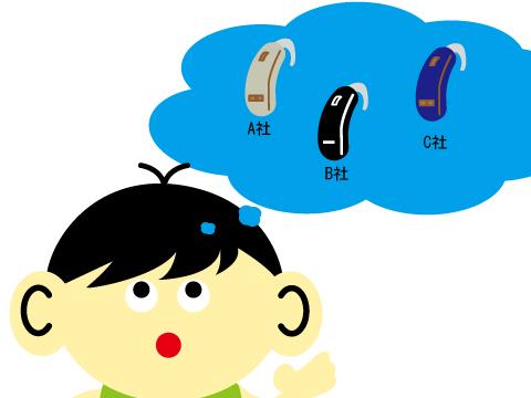 両耳補聴器で代表的なメーカー