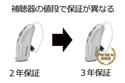 補聴器 保証 a1