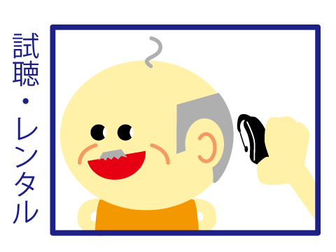 シグニア補聴器取扱店 レンタル