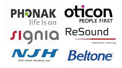 取り扱い 補聴器メーカー