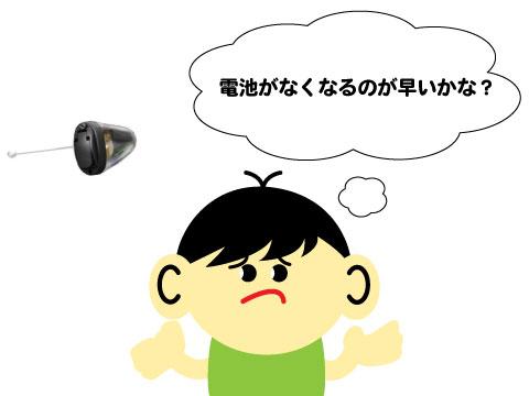最小補聴器 デメリット