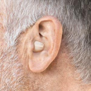 シグニア 耳あな補聴器 装用