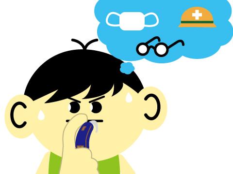 耳かけ式補聴器の注意点
