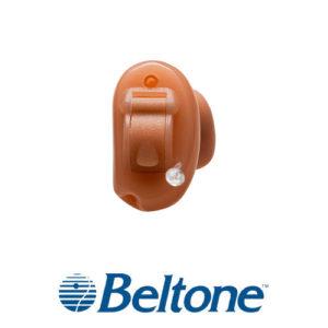 ベルトーン補聴器 アライ3 CIC装着画像