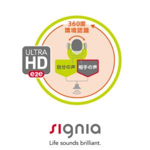 シグニア補聴器 ウルトラHD機能