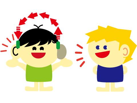 片耳難聴 クロス補聴器