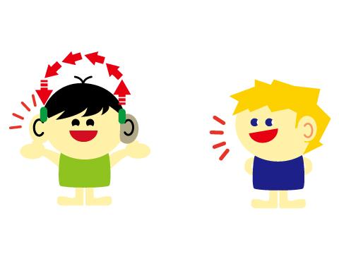 片耳難聴 補聴器 クロス